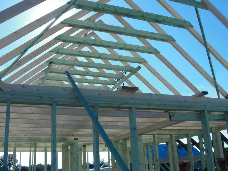Budowa domku Pogwizdów dzień drugi 20.06.2017