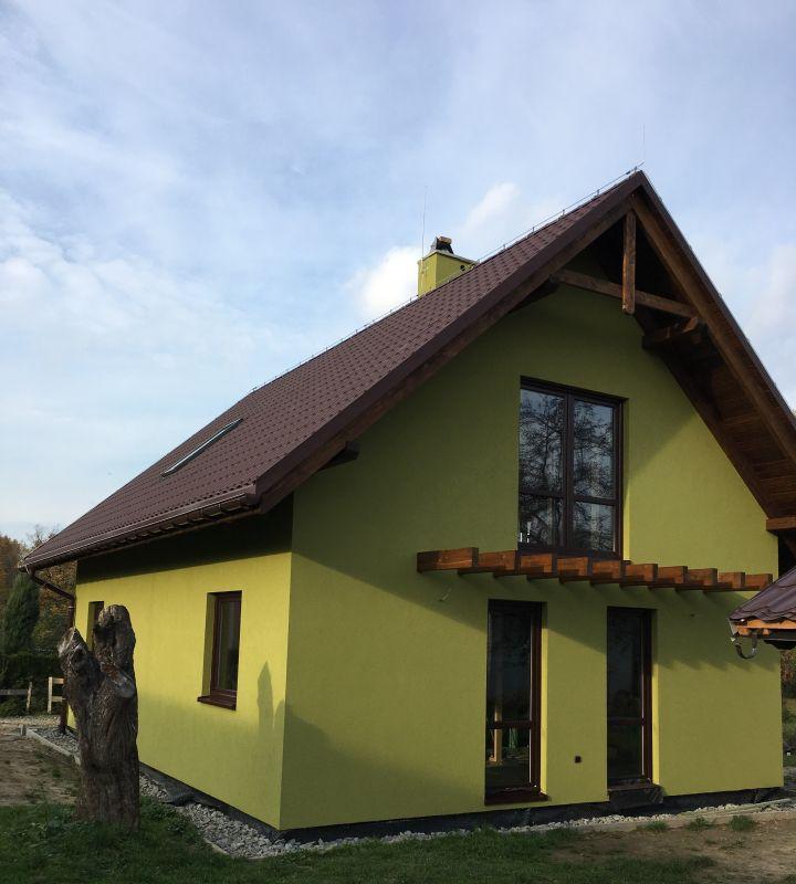 domy mieszkalne z drewna - Domy