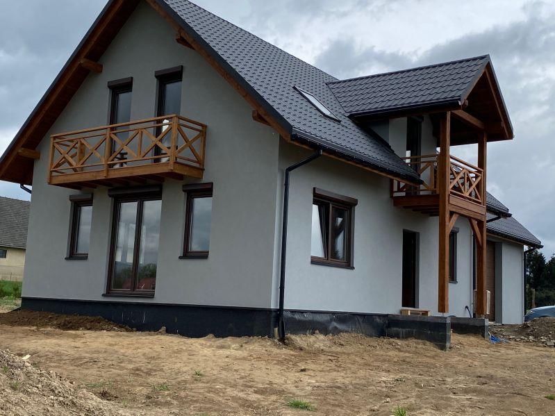 domy mieszkalne drewniane - Domy