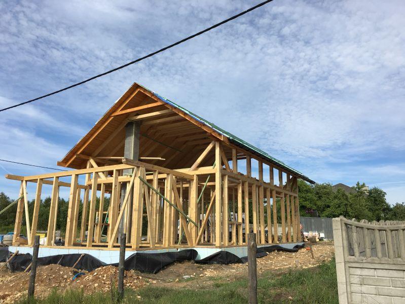 Budowa domku w Zawierciu