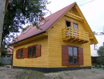 "DM-32 140 m2 Projekt ""Domek Klonowy"""
