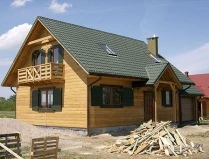 """DM-25 189 m2 Projekt """"Domek Prosty"""""""