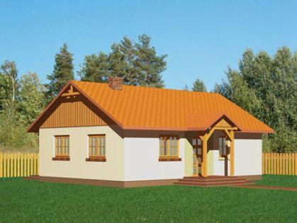 """DM-29 77 m2 Projekt """"Portowy"""""""