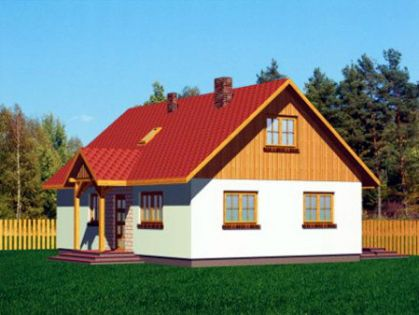 """DM-34 171 m2 Projekt """"Domek Portowy"""""""