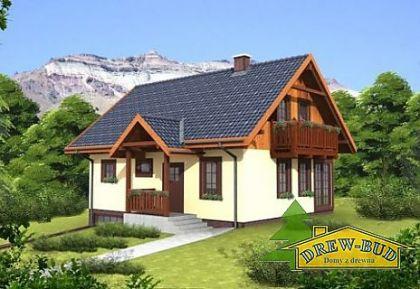 """DM-73 167 m2 Projekt """"Domek Południowy"""""""