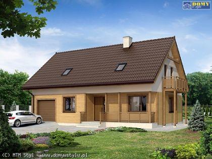 """DM-65 191 m2 Projekt """"Wiśnia dr-ST"""""""